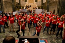 2013 Legislative Day Flash Mob