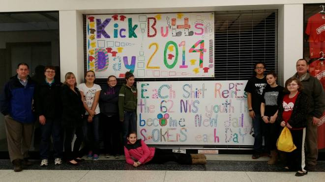 Kick Butts Day 2014